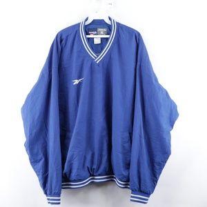 90s Reebok Mens XL Stitched Classic Logo Jacket